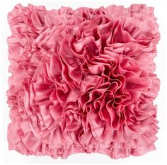 Surya BB034 Hand Crafted 100 Poly Dusty Pink 18 x 18 Textural Decorative Pillow ** Check out this great product.