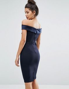 Buy Vesper Structured Pencil Dress With Satin Off Shoulder at ASOS. With free delivery and return options (Ts&Cs apply), online shopping has never been so easy. Get the latest trends with ASOS now. Satin, Dressy Dresses, Fashion Online, Latest Trends, Asos, Pencil Dresses, Shoulder, Style, Pencil Dress