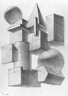 композиции из геометрических фигур картинки | Картинки — онлайн