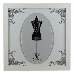 Conj. Quadros Chanel - Paris - Merci  - 2 unid