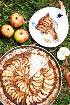 Hemsley And Hemsley French Apple Tart Recipe (Vogue.com UK)