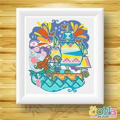 20%off using Coupon Code: THANKYOU20 Little Mermaid - Fairy Tale Series - Cross Stitch Patterns