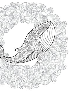 18 Absurdly Whimsical Adult Coloring Pages Davlin Publishing