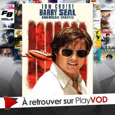 Tom Cruise retrace l'histoire du terrible Barry Seal, le narcotrafiquant américain qui a réussi à infiltrer la CIA ! Barry Seal, Tom Cruise, American, Thriller, Toms, Cult Movies