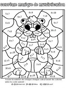 Multiplication Coloring Worksheets Grade Mosaic coloring pages for Groundhog Day Activities, Math Activities, Math For Kids, Fun Math, School Holidays, School Fun, Math Coloring Worksheets, Math Sheets, Math Multiplication