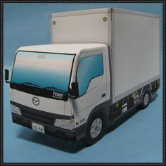 Mazda Titan Truck Free Vehicle Paper Model Download - http://www.papercraftsquare.com/mazda-titan-truck-free-vehicle-paper-model-download.html