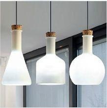 Americana moderna magia blanca botella de techo de la lámpara(China (Mainland))