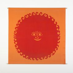 """""""Old Sun"""" by Alexander Girard, friend and collaborator of Charles and Ray #Eames"""