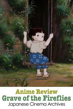 Japanese Film, Japanese Art, Fireflies Anime, Hotaru No Haka, Anime Bento, Ghibli Tattoo, Grave Of The Fireflies, Studio Ghibli Characters, War Film