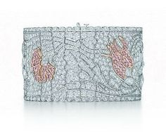 Pink diamond floral bracelet | Tiffany | Pinterest