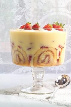 Classic Sherry Trifle Recipe | Allyson Gofton.  Leftover trifle has become our traditional Boxing Day breakfast. Yum!