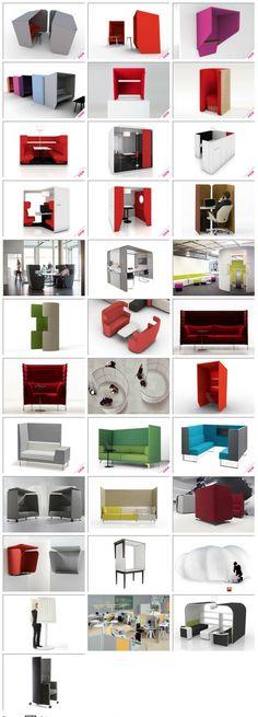 furniture for workspace Modular Furniture, Cool Furniture, Furniture Design, Corporate Interiors, Office Interiors, Office Workspace, Office Decor, Enterier Design, Creative Office Space