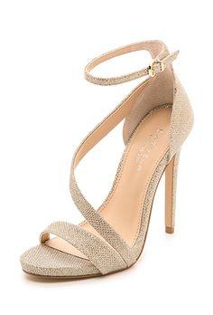 "Carvela Kurt Geiger. ""Gosh"" asymmetrical sandals, $200, Carvela Kurt Geiger available at  Shopbop"