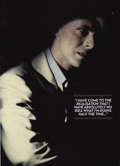 David Bowie speaking my language