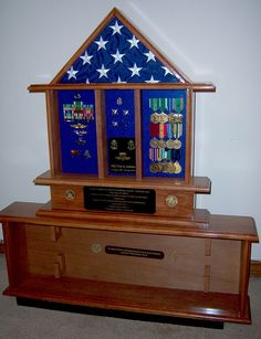 Ray's Handcrafted Shadow Boxes - Military Display Cases