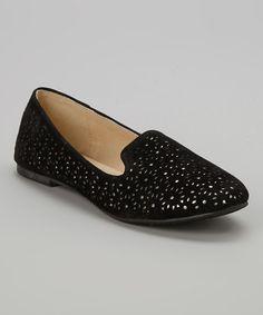 Look what I found on #zulily! Black Glee Loafer #zulilyfinds