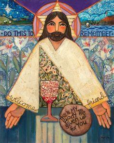 Luke 22:19-20 The Last Supper (Print by Jen Norton)