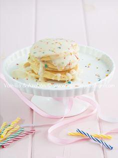 Empieza el día celebrando ¡pancakes festivos!/ Birthday pancakes for a happy breakfast