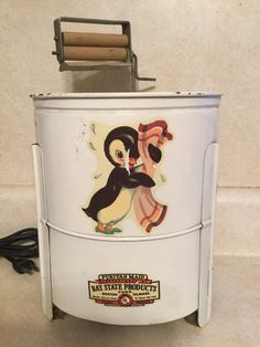 Antique Puritan Maid Bay State Childs Toy Electric Doll Washing Machine 1930s | eBay