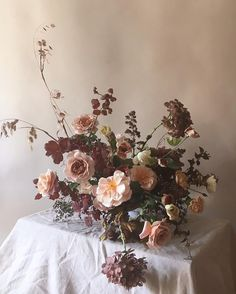 Urn centrepieces available to hire from The Artisan Wedding House in Northumberland Floral Centerpieces, Floral Arrangements, Ikebana Arrangements, Centrepieces, Table Flowers, Beautiful Flowers, Red Flowers, Floral Wedding, Wedding Flowers