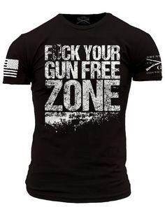 Fck Your Gun Free Zone - Front Phantom