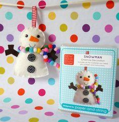 Snowman Mini Kit on Etsy