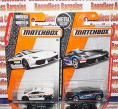 MATCHBOX LAMBORGHINI GALLARDO POLICE CARS boundlesscollectibles.com