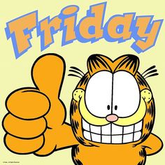 – My CMS Garfield Pictures, Garfield Quotes, Garfield Cartoon, Garfield And Odie, Garfield Comics, Its Friday Quotes, Friday Humor, Happy Friday Gif, Snoopy Friday