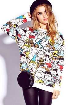 Peanuts Craze Sweatshirt