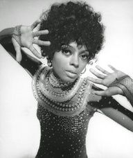 Diana Ross is wearing Bob Mackie, photo Richard Avedon