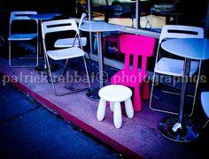 When I grow up   Fine Art Photography Café Terrasse Seats