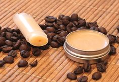 Just the ticket to keep those lips from getting dry and chapped: Homemade Coffee Lip Balm