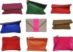 Clare clutches back in stock