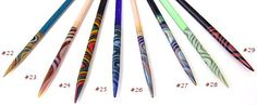 Circular glass knitting needles - unlike any other knitting needle. Our circular knitting needles have extra smooth joins and pointy points. Crochet Hooks, Knit Crochet, Lampworking, Circular Knitting Needles, Knitting Ideas, Birthday Wishes, Sticks, Needlework, Gadgets