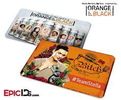 Orange is the New Black Inspired Fan Card - #TeamStella