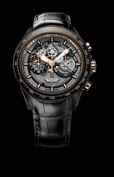 Graham Silverstone RS Skeleton Black & Gold