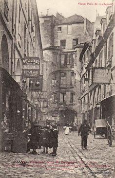 Paris street in the 1900 Paris Pictures, Paris Photos, Old Pictures, Old Photos, Paris 1900, Paris France, Belle Epoque, Ville France, I Love Paris