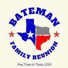 8b52e17f TX Reunion132; Texas colors, Texas the Lone Star State. #reuniontees  #ctp365 · Family Reunion ...