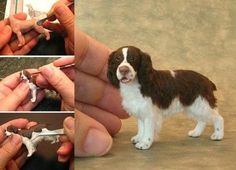 Felted English Springer Spaniel