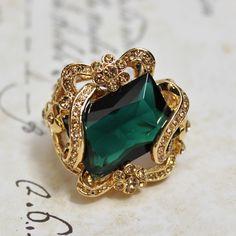 Chalange Emerald Ring $42.75