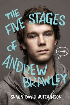 The Five Stages of Andrew Brawley by Shaun David Hutchinson - Convinced he should have died in the accident that killed his parents and sister, sixteen-year-old Drew lives in a hospital, hiding from employees and his past, until Rusty, set on fire for being gay, turns his life around. Includes excerpts from the superhero comic Drew creates.