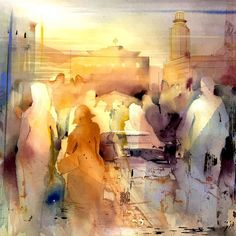 Watercolor Paintings by Gunnel Moheim