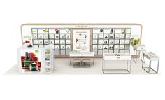 cosmetic booth design - Google Search