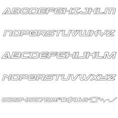 Dameron Outline Italic Font