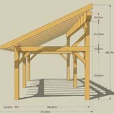 Beginner Woodworking Projects, Woodworking Plans, Popular Woodworking, Woodworking Furniture, Wood Furniture, Deck Shade, Pergola Shade, Carport Designs, Carport Ideas