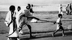 Il Mahatma Ghandi    L'uomo che senza sparare un colpo ha piegato l'Impero britannico.(Credits: Getty images / Keystone-France)