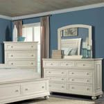 Whittington White Bedroom Chest - Bernie And Phyls