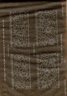 MAS ESQUEMAS EXELENTES.  DMC Library Needle-Made Laces - eva lon - Picasa Web Album