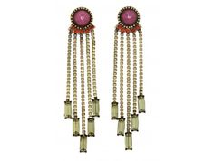 Estates Fringe Drop Earrings | Glamhouse