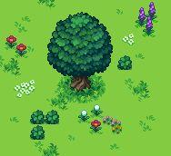 Title:Tree Pixel Artist:beetleking